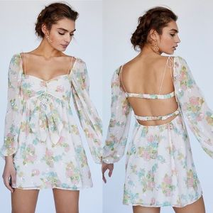 For Love and Lemons Georgia Mini Dress